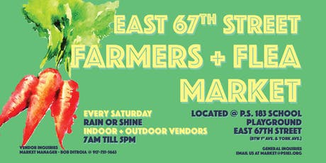 East 67th Street Farmers & Flea Market tickets