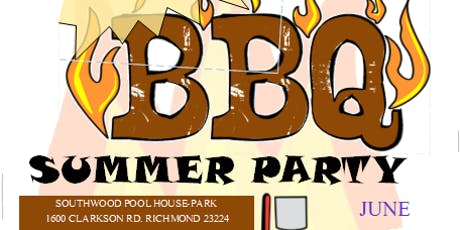Copy of Summer Party:  CookOut				  Fiesta de Verano:  Parrillada tickets