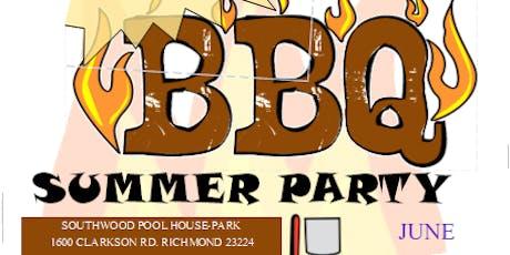 Copy of Summer Party:  CookOut  Fiesta de Verano:  Parrillada tickets
