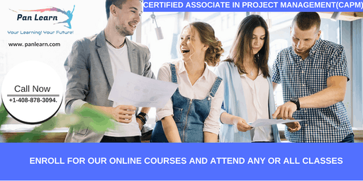 CAPM (Certified Associate In Project Management) Training In Chico, CA