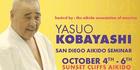 Yasou Kobayashi Soshihan Aikido Seminar (Entire) tickets