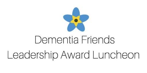 18th Annual Dementia Friends Leadership Award Luncheon