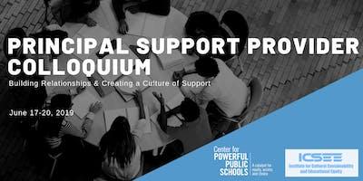 Principal Support Provider Colloquium
