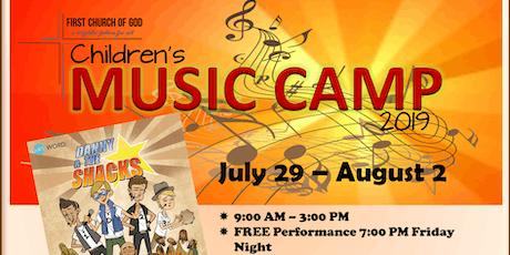 Children's Music Camp 2019 tickets