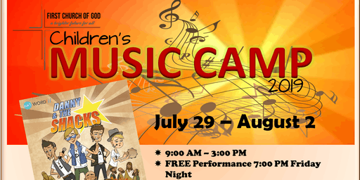 Children's Music Camp 2019