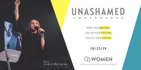 Unashamed Conference tickets