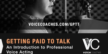 New Haven - Getting Paid to Talk, Making Money with Your Voice tickets