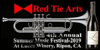 Red Tie Arts' Summer Music Series. 1st of the series, June 15, ABBAcadabra