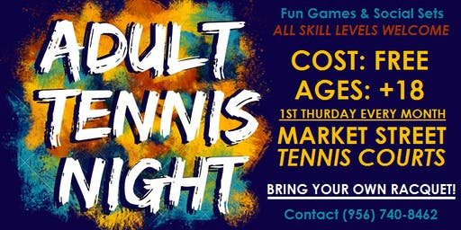 Adult Tennis Night
