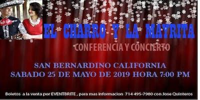 EL CHARRO Y LA MAYRITA (CONFERENCIA EN SAN BERNARDINO CA)