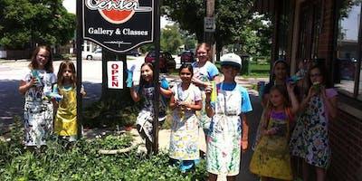 """Kids Summer Art Camp Week 4 - """"National Park Art Week"""""""