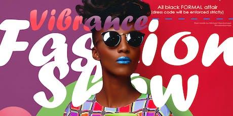 Vibrance Fashion Show tickets