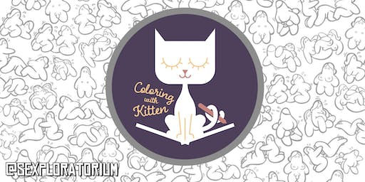 Coloring with Kitten: Pet Play for Pets and Their Owners