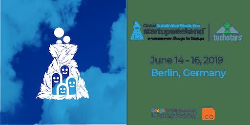 Techstars Global Startup Weekend Sustainable Revolution Berlin 06/19