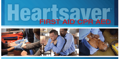 Heartsaver First Aid - CPR w/AED for Adult/Child/Infant