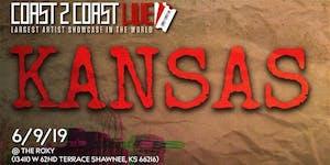 Coast 2 Coast LIVE Artist Showcase Kansas, KS - $50K...