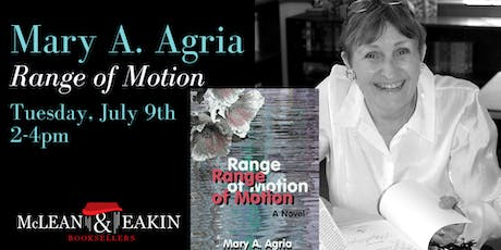 Mary Agria Book Signing tickets