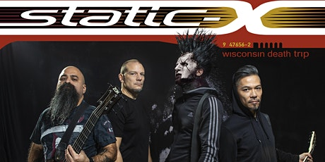STATIC X with West of Hell, Obsidian tickets