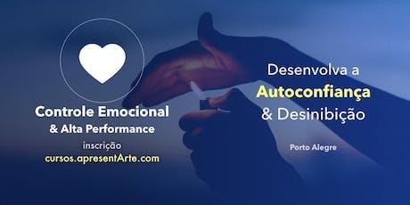 Curso ApresentArte - Controle Emocional - 24/08/19 ingressos