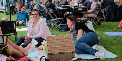 Picknick op het plein