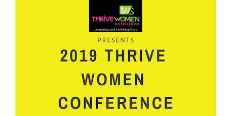2019 THRIVE WOMEN CONFERENCE tickets