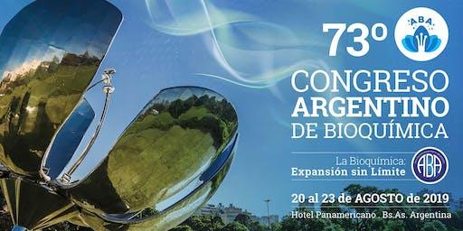 73º Congreso Argentino de Bioquímica