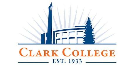 Clark College Orientation tickets