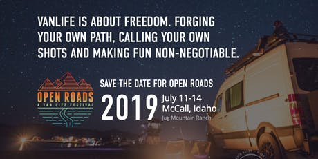 Open Roads Fest tickets
