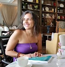 Judy Machado-Duque (Author of Life Purpose Playbook, Creator of The Goddess Temple Sacred Circles + Retreats & Founder of The Goddess Temple Ceremonial Cacao) logo
