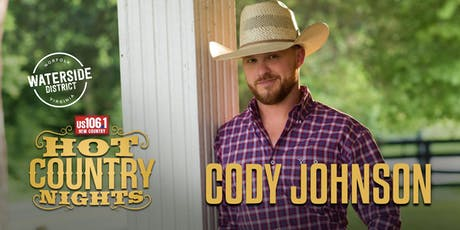 Hot Country Nights:  Cody Johnson tickets