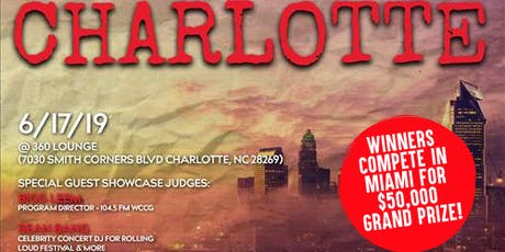 Coast 2 Coast LIVE Artist Showcase Charlotte, NC - $50K Grand Prize tickets