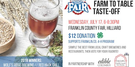 2nd Annual Farm to Table Taste-Off tickets