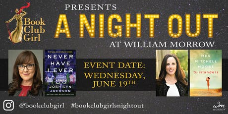 Book Club Night Out with Joshilyn Jackson and Meg Mitchell Moore tickets
