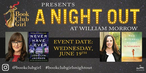 Book Club Night Out with Joshilyn Jackson and Meg Mitchell Moore