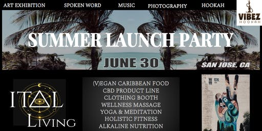 The ITAL LIVING Summer 2019 Launch Party   Art Exhibition