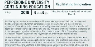 Facilitating Innovation by Pepperdine University's Continuing Education