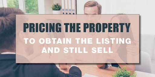 CB Bain | Pricing the Property (3 CE-WA) | Tacoma Main | Aug1st 2019