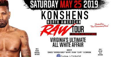 Virginia Ultimate All White Affair with Konshens at MP Ultra Lounge!