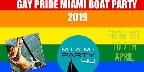 GAY PRIDE MIAMI PARTY BOAT 2019 tickets