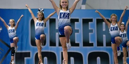 3-Day Cheer Prep Camp, ages 6-13