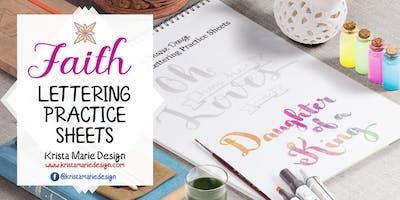 Faith Quotes Hand Lettering Mini Workshop