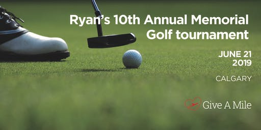 Give A Mile 10th Annual Ryan Westerman Memorial Golf