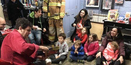 Storytime at the Fire Department Museum