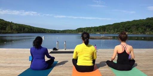 Lakeside Yoga & Kayaking Weekend at Corman AMC Harriman Outdoor Center