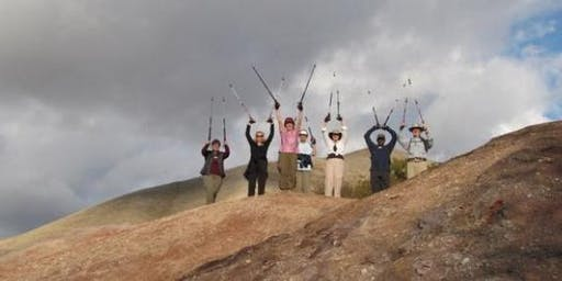 Learn How to Use Poles for Hiking & Outdoor Exercise + Practice Hike How to Use Poles for Hiking & Outdoor Exercise + Practice Hike