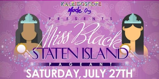 MISS BLACK STATEN ISLAND PAGEANT