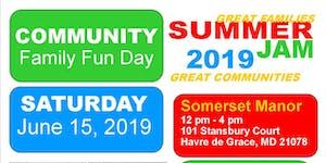 Summer Jam 2019 Family Fun Day