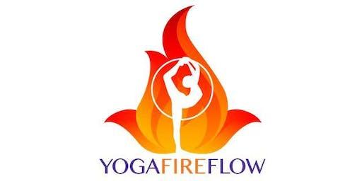 Sunday Yoga @ O.B. Garden Cafe - 10AM with Yoga Fire Flow