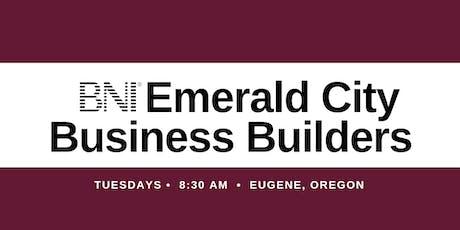 BNI: Emerald City Business Builders tickets