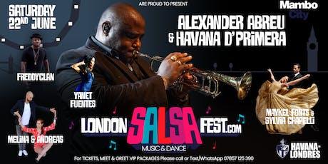ALEXANDER ABREU & HAVANA D' PRIMERA - LONDON SALSA FEST tickets